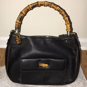 Gucci Bamboo Top Handle Handbag.